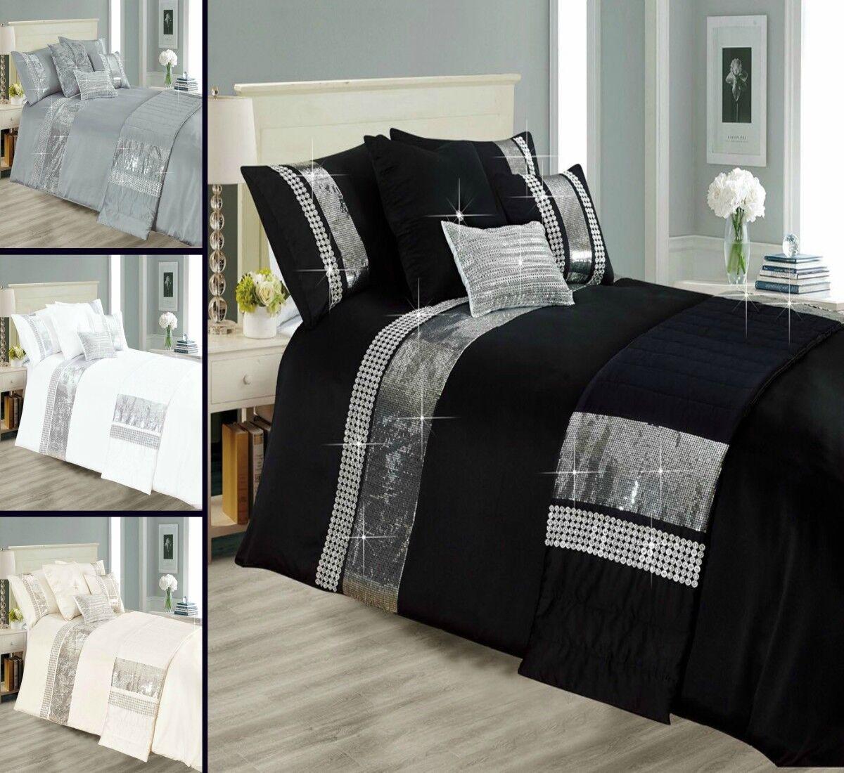 Sequence Style Star Lite 3 Piece Bedding Set 1 Duvet Quilt Cover 2 Pillow Cases