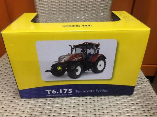 Universal hobbies 1//32 New Holland T6.175 Edition Terracotta Diecast Model