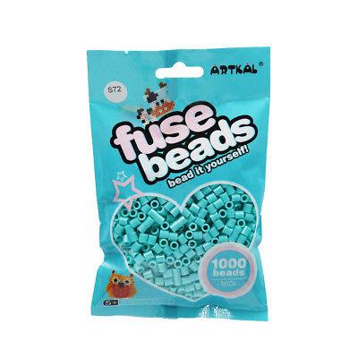 Basteln & Kreativität Artkal 1000 Midi Bügelperlen 5mm Light Sea Blue S72 Spielzeug Fuse Beads