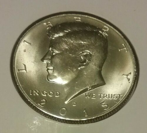 2015 Kennedy D Half Dollar Uncirculated BU