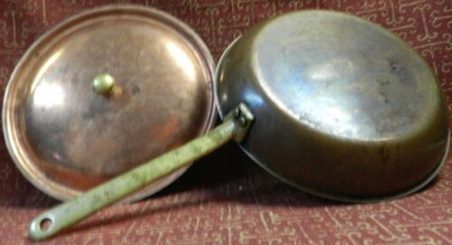 CULINOX Gourme CopperStainless Clad & Lid Saute Pan Made in Switzerland 10 Inch