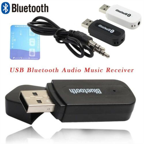 Mini USB Wireless Bluetooth 3.5mm Aux Stereo Audio Car Receiver Adapter  Cool~~