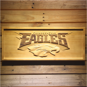 6c3b28f6e3e New Custom Made NFL Football Philadelphia Eagles 3D Carved Wooden ...