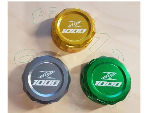 Z1000 und Z1000SX  Deckel Bremsflüssigkeit  **Titanium**  Neu Z1000 Beschriftung
