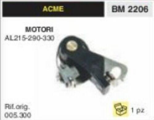 005.300 CONTATTI PUNTINE MOTORE ACME AL215 AL290 AL330 AL 215 290 330