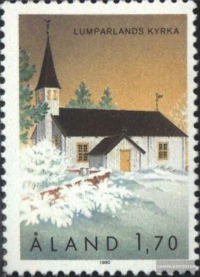 Aland 43 kompl.ausg. Niedrigerer Preis Mit Finnland Postfrisch 1990 Kirche Von Lumparland üBerlegene Materialien