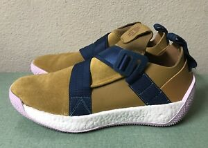 57f1797f1a00 Adidas James Harden LS 2 Buckle Mesa Pink Mens Sz 13.5 Suede Boost ...