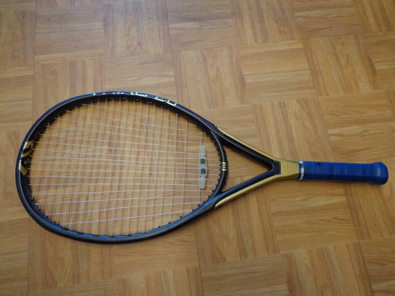 Martillo 2.0 Wilson Triad cabeza de gran tamaño 125 4 3 8 Grip Tenis Raqueta