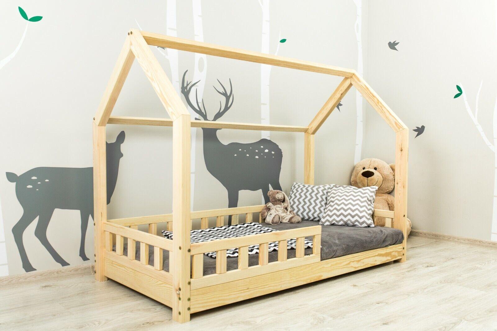 Toddler Bed Frame Furniture Kids Boys Girls Wood Pirate Ship Headboard Design For Sale Ebay