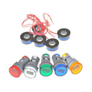 AC-220V-0-100A-Digital-Ammeter-22mm-Display-Monitor-Current-Measuring-Met-NTAT