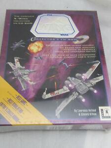 NEW - Star Wars X-Wing Wars Lucasarts PC (1994) Big Box Sealed