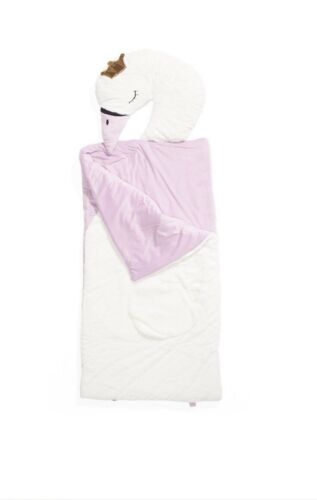 "FROLICS Sleeping SWAN PRINCESS Plush Sleeping Bag 29"" X 68"" *BRAND NEW*"