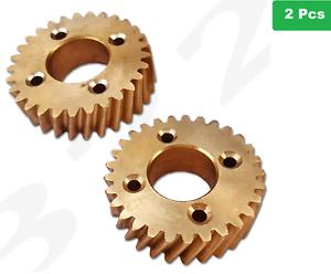 2-x-HOBART-DOUGH-MIXER-55614-1-BRASS-GEAR-COMMERCIAL-HEAVY-DUTY-AE125-A200-A120