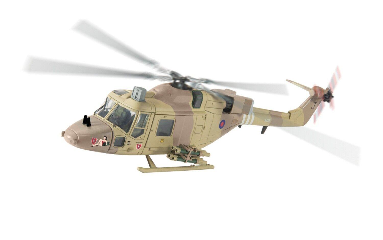 CORGI Westland Lynx AH1GT, XZ221, 'J' 654 Sq. Op. GranbyIraq, 1991-AA39006