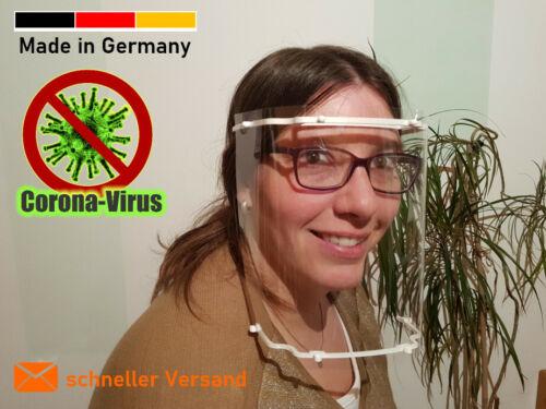 Schutzschild Gesichtsschutz Gesichtsschild Schutzvisier Spuckschutz Augenschutz