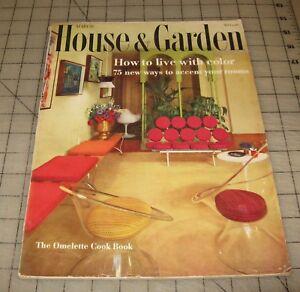 HOUSE-amp-GARDEN-March-1960-Good-Condition-Magazine