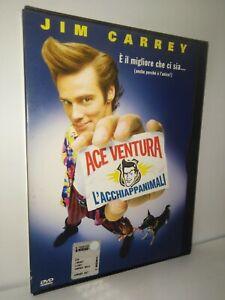 Dvd-Ace-Ventura-Z8-23000-snapper-case-Warner-bros-prima-stampa-fuori-catalogo