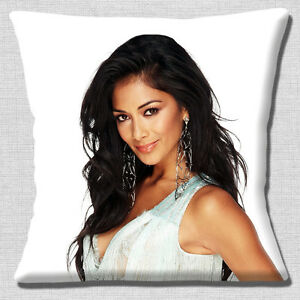 NICOLE-SCHERZINGER-PUSSYCAT-DOLL-X-FACTOR-JUDGE-PHOTO-16-034-Pillow-Cushion-Cover