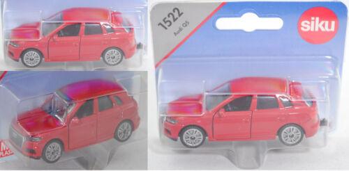 Siku Super 1522 AUDI q5 2.0 TFSI QUATTRO S tronic Rosso