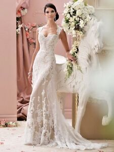 David tutera bridal gown lourdes 115229 size 14 ebay image is loading david tutera bridal gown lourdes 115229 size 14 junglespirit Choice Image
