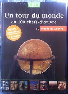 Livre-GEO-100-chefs-d-039-oeuvre-musee-du-Louvre-Neuf-sous-blister
