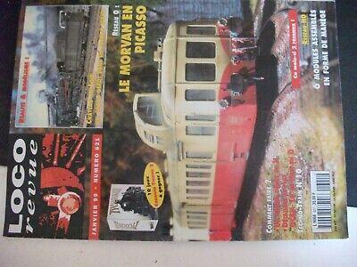 **ju Loco Revue N°621 Cfd Du Morvan En 0 / Saunières : Quartier De La Gare Paghi Uno Prendi Due