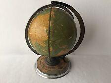 Cram's Deluxe Terrestrial Globe Daily Sun Ray and Season Indicator 1930's