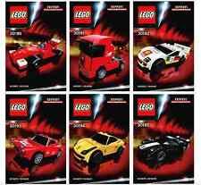 LEGO® Racers Ferrari 30190-30196 Shell Exclusive Set NEU OVP NEW MISB NRFB