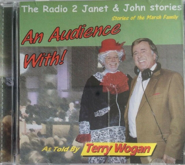 Radio 2 JANET & JOHN Stories - An audience with TERRY WOGAN - New & Sealed CD