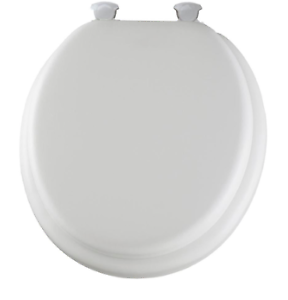 Phenomenal Details About Church Easy Clean And Change Cushioned Vinyl Round Toilet Seat Used Ncnpc Chair Design For Home Ncnpcorg