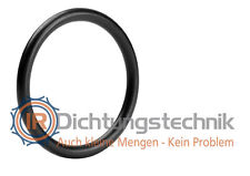 O-Ring Nullring Rundring 80,0 x 4,0 mm NBR 70 Shore A schwarz 3 St.