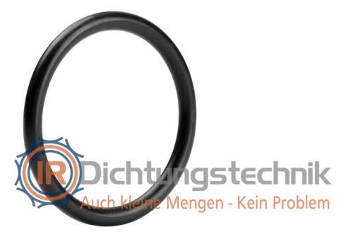 O-Ring Nullring Rundring 30,0 x 1,5 mm EPDM 70 Shore A schwarz Atemregler 25 St. Tauchen