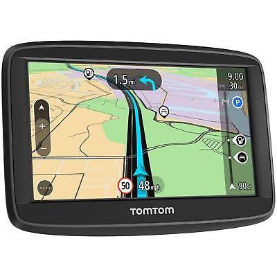 """TomTom Start 42 Sat Nav 4.3"""" Screen Lifetime Western Europe Maps UK ROI"""