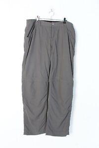 Berghaus-Femme-Zip-Off-Marche-Pantalon-Shorts-Gris-Taille-12-L-EE6