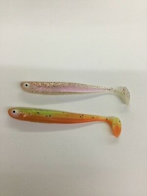 10 Farben Veit Wilde Shad Green Tomato Frequency Shad  12 cm FTM Seika Pro