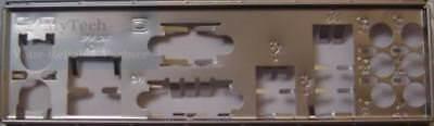 ASUS I//O IO SHIELD BLENDE BRACKET  P5G41TD-M PRO P5QPL-VM EPU