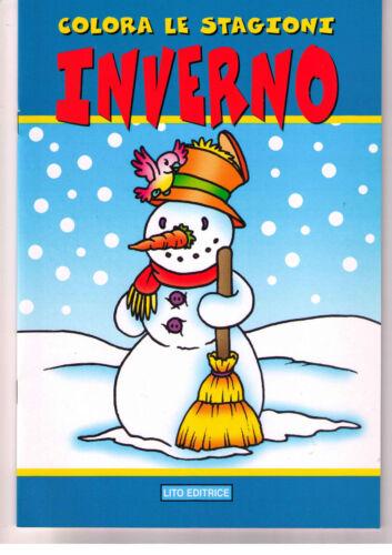 Colora le stagioni. Inverno - Lito - Libro nuovo in offerta!