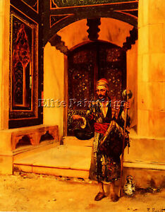 RUDOLF-ERNST-THE-BEGGAR-ARTIST-PAINTING-REPRODUCTION-HANDMADE-CANVAS-REPRO-WALL