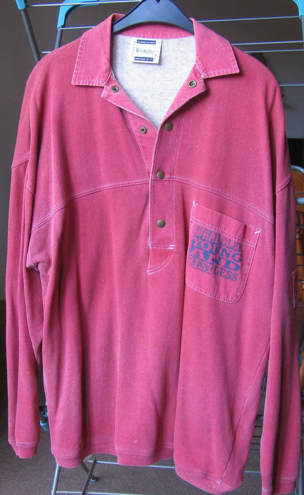 Very Rare Vintage Wrangler  Sweat Top Jumper Größe S/M
