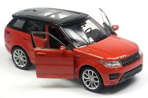 Nuevo-coche-modelo-Range-Rover-Sport-aprox-11-5cm-naranja-metalizado-mercancia-nueva-de-Welly
