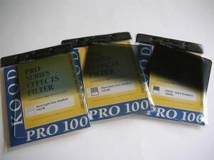 Kood-pro-100-Serien-ND2-ND4-ND8-Hart-gradiert-Passform-Cokin-Z-System-gg1h