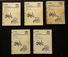 Ford 2810 3230 3430 3910 3930 4630 Tractor Service Repair Manual Set