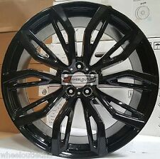 22 Wheels & Tires Gloss Black Rims Fit BMW X5 X5M X6 M Style 375