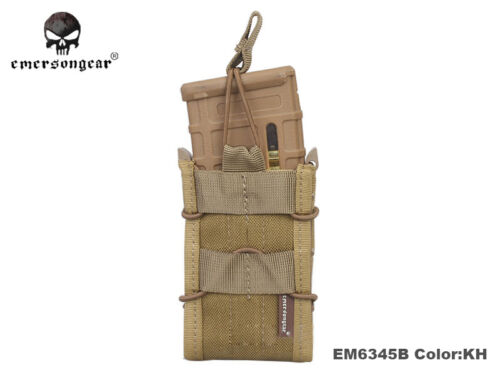 Airsoft Molle MAG Carrier Pouch Emerson Tactical Single Unit Magazine Pouch 6345