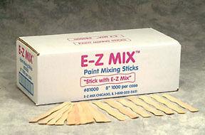 "E-Z MIX 8/"" Wood Paint Sticks 81000"
