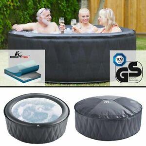 Mspa Hot Tub Spa Jacuzzi Mont Blanc Self Inflating 2 Sizes 2 Year Warranty Ebay