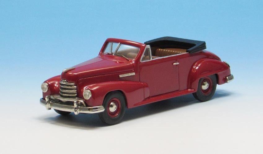 Opel Capitain Cabriolet Miniature Auto,Fait à à à la Main Petite Série Weissmetall | Emballage élégant Et Robuste  da7bc9