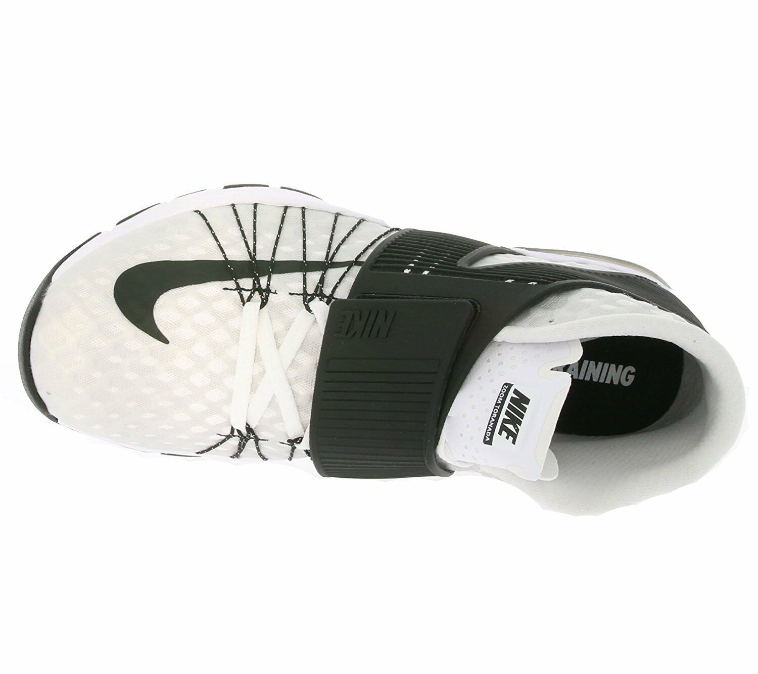 2479bfd2ba417 Nike Zoom Train Toranada Men's SNEAKERS White/black Size 10 835657
