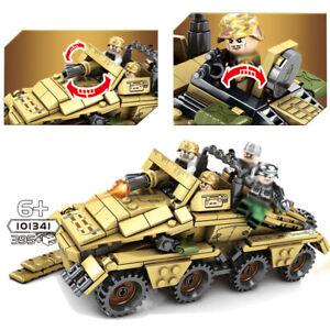 395pcs-Militaer-Panzerwagen-Bausteine-mit-Armee-Soldaten-Figuren-Waffen-Spielzeug