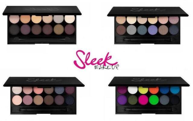 Sleek I Divine Mineral Based Eyeshadow Palettes Assorted Shades